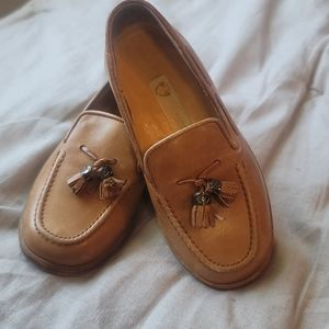 Vintage Authentic Baby Gucci Leather Loafers sz 25
